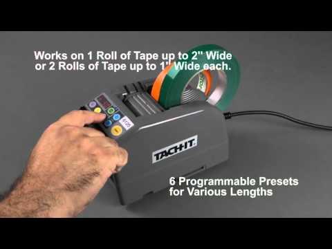 Tach-It 6125 Semi-Automatic Definite Length Tape Dispenser