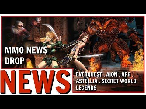 MMO News Drop: EverQuest Secret World Legends Astellia and More