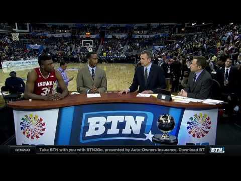 Indiana vs. Iowa - 2017 Big Ten Men's Basketball Tournament