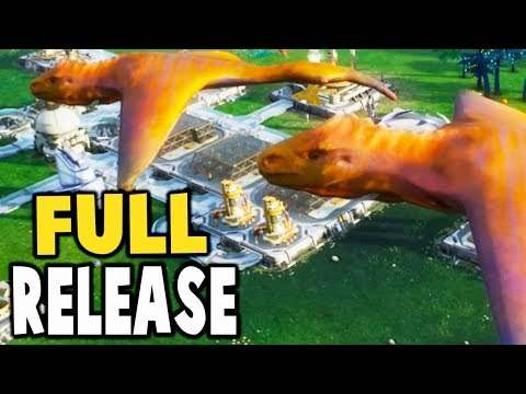 Aven Colony - FULL RELEASE, ALIEN SPORES, AQUATIC SPACE WORMS - Aven Colony Gameplay