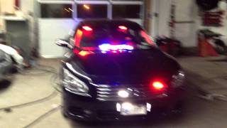 Maxima VAS Volunteer Ambulance Police Lights Smart Siren Demo HD