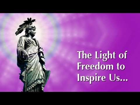 The Goddess of Freedom Rays Forth the Light of Freedom to Inspire Us Onward and Upward