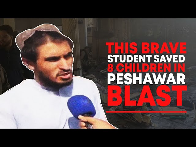 Brave Student Saved 8 Children In Peshawar Blast