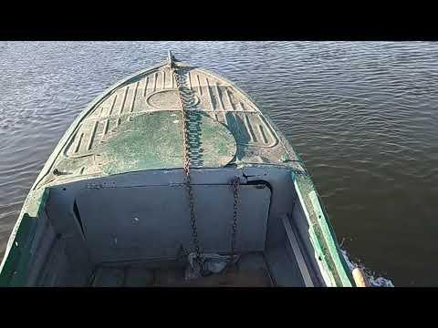 Лодка Казанка без булей под мотором Sharmax 15 он же 9.9 копия Yamaha 9.9 15