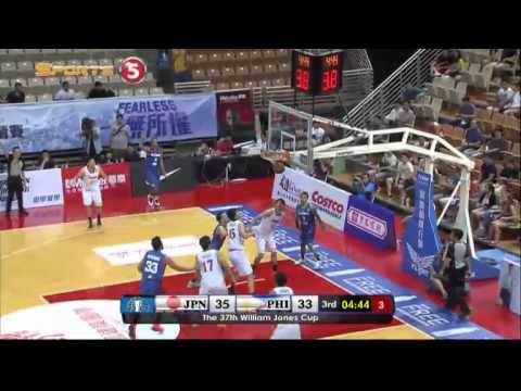 Jones Cup 2015: Gilas Pilipinas def. Japan, 75-60 (COMPLETE REPLAY VIDEO)