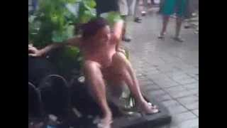Woman catches her husband with his mistress in the street_(in Brazil)