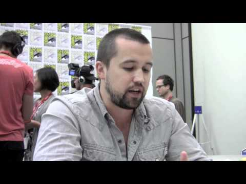"""SDCC '11 Rob McElhenney """"It's Always Sunny"""" Interview"""