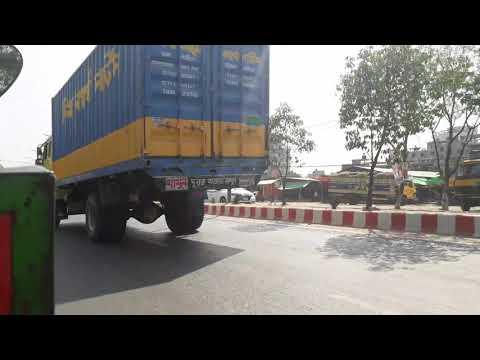 Corona Virus effect on road in Savar Dhaka Bangladesh.