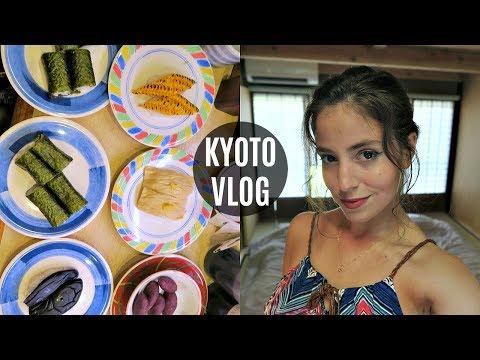 EXPLORING KYOTO! Gaming Center, Vegan Food + Hilarious Bus Rides!