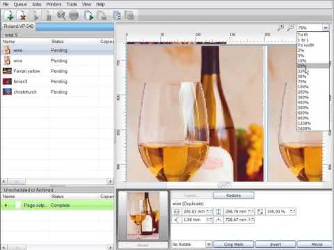 SignLab: Visual Production Manager