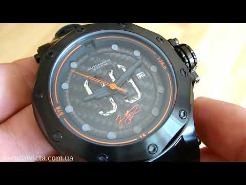 Invicta 26747 Jason Taylor Limited Edition Carbon Dial 300m