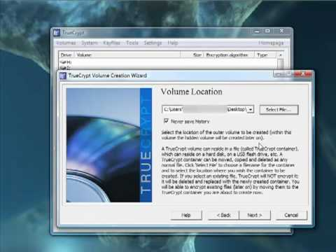 Encrypting Your Disk With Truecrypt