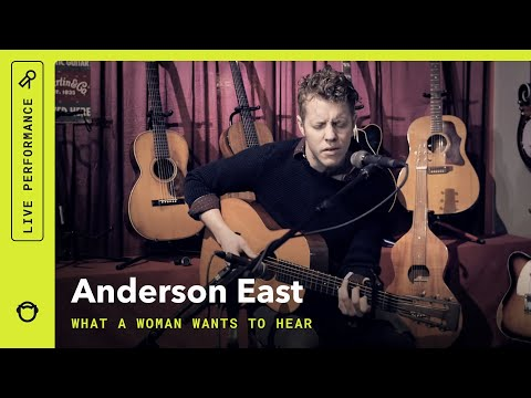 "Anderson East, ""What A Woman Wants to Hear"": Rhapsody Video at Emerald City Guitars"
