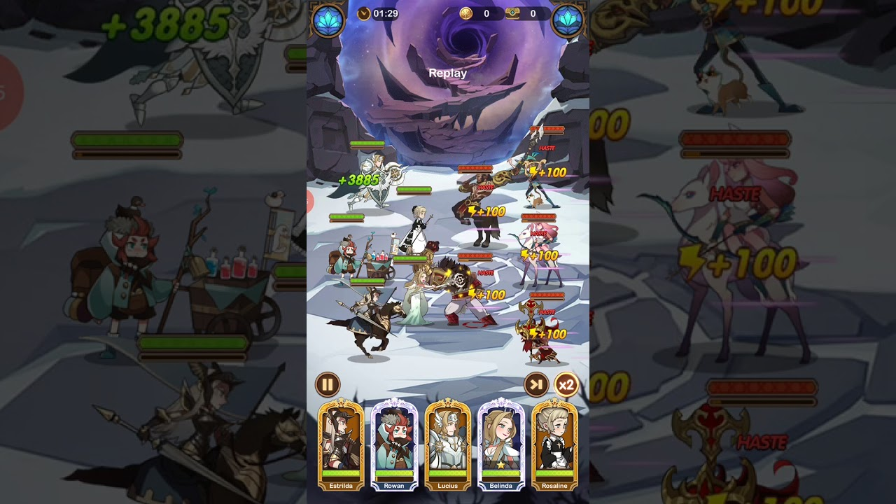 AFK Arena Stage 27-37 - YouTube