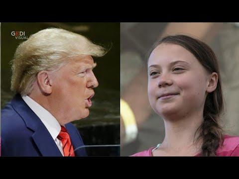 Trump parla di Greta Thunberg su Twitter: la risposta della giovane ambientalista diventa virale