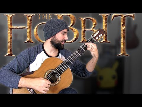 THE HOBBIT: Misty Mountains - Classical Guitar Cover (BeyondTheGuitar)