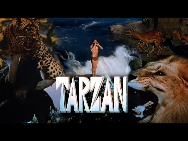 Tarzan 1966 - 1968 Opening and Closing Theme (With Intro & Snippet)