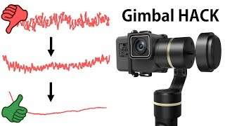 Gimbal HACK for perfect Stabilisation (Feiyu Tech G5)