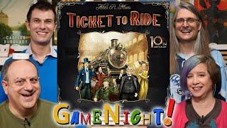 Ticket to Ride - GameNight! Se7 Ep42