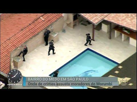 Onda de crimes assusta moradores de bairro nobre de São Paulo   Primeiro Impacto (18/05/18)