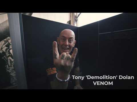 The Demolition Man of VENOM INC. on support of Antichrist magazine @ Wacken 2019