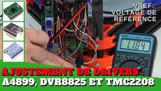 Ajuster le voltage des Drivers (pilotes) d'une imprimantes 3D