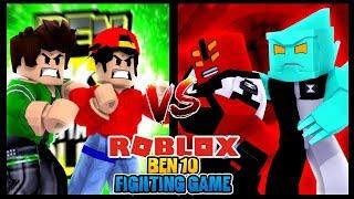 ROBLOX - NOUVEAU BEN 10 FIGHTING JEU!!