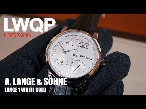 UNBOXING - A. Lange & Söhne Lange 1 White Gold