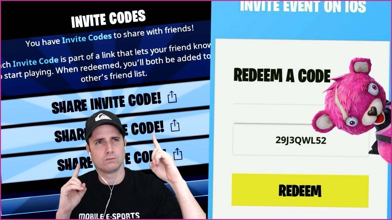 Mobile Fortnite - FREE DOWNLOAD CODES - Share in Comment ...