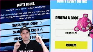 Mobile Fortnite - FREE DOWNLOAD CODES - Partager dans la section Commentaire!