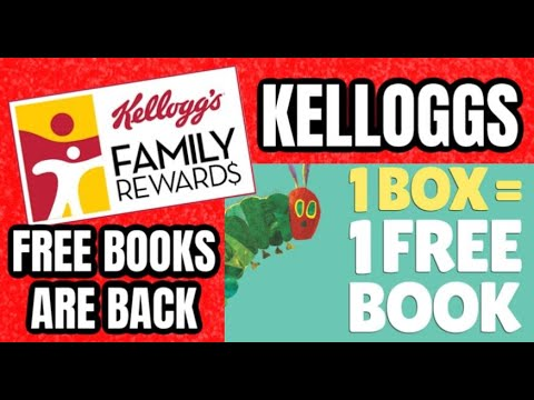 FREE BOOKS with Kelloggs Family Rewards 2020