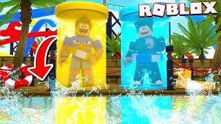RADICAL TOBOWATER WITH CAPSULES IN ROBLOX!!