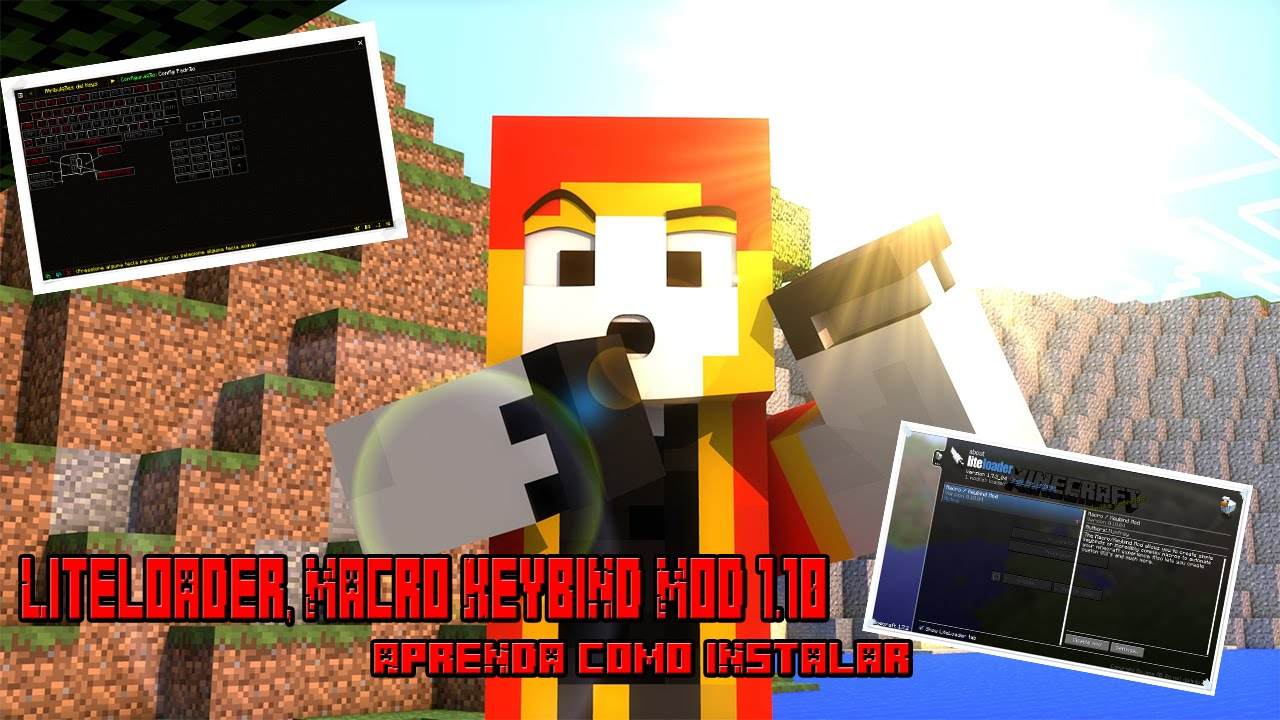 "Como Baixar E Instalar Mod Macro Para Minecraft 1.10 ""Para"