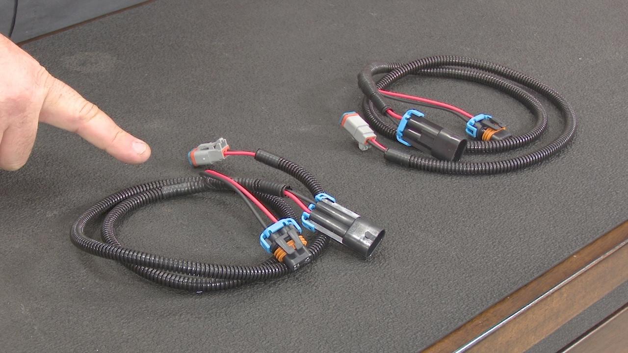 Jeep Wrangler Starkey Fog Light Wiring Adapter H10 To