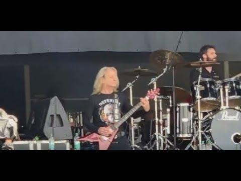 Judas Priest's  K.K. Downing plays live w/ Ross Friedman @ 2019 Bloodstock