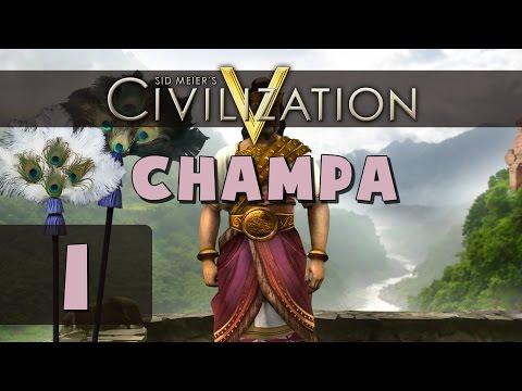 Civilization 5 - Let's Play Champa (Deity) - Part 1