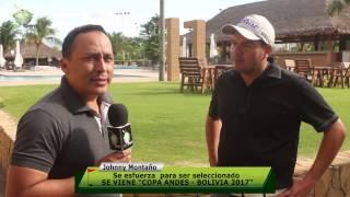 JOHNNY MONTANO   QUIERE COPA ANDES 2017
