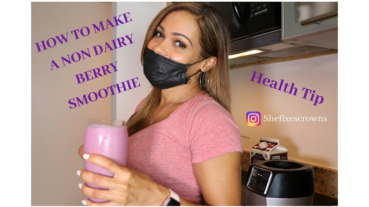 Learn how to make a delicious non-dairy berry smoothie, and what doctors are not telling you.