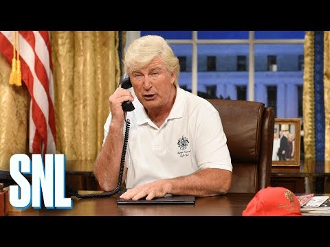 Thumbnail: The Chaos President Cold Open - SNL