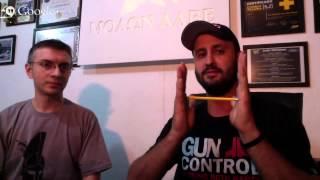 Hangout com Tony Eduardo e Fabio Ferreira - Balística Terminal - Audio começa em 1:10 min.