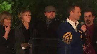 Leonardo DiCaprio Among Many Celebrities Attending Alan Thicke's Memorial