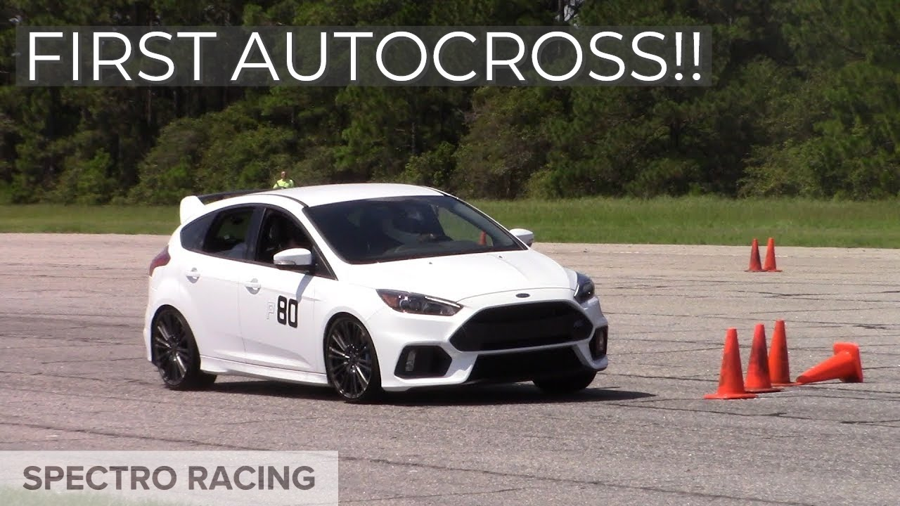 2016 ford focus rs airport autocross awd 350hp youtube