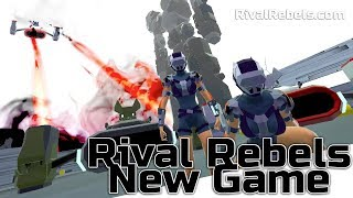 Rival Rebels New Game - Dark Matter Drive WIP