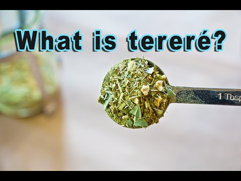 What is Tereré (Iced Tea Yerba Mate)?