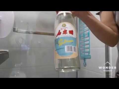 Phòng tắm kính - #cáchrửakinh Mẹo vặt với cách rửa kính nhà tắm sạch tinh như khách sạn.
