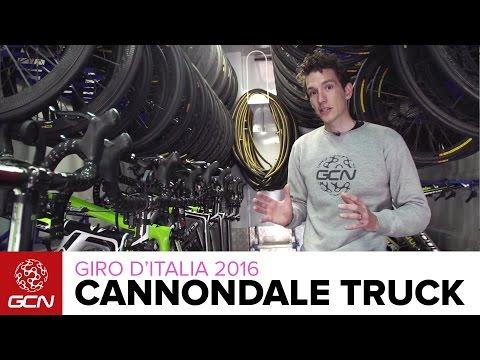 Cannondale Team Truck Tour | Giro D'Italia 2016
