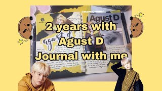 K-pop journal with me || 2 years with Agust D