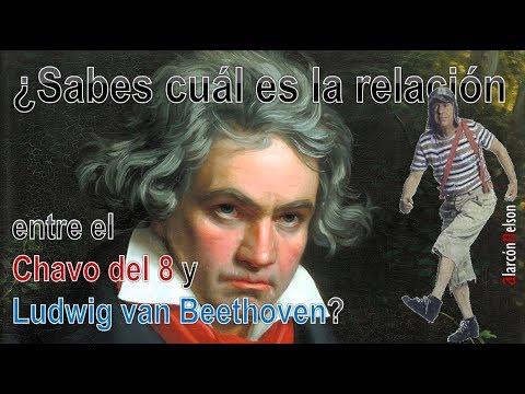 ¿Sabes cuál es la relación entre el Chavo del 8 y Ludwig van Beethoven?
