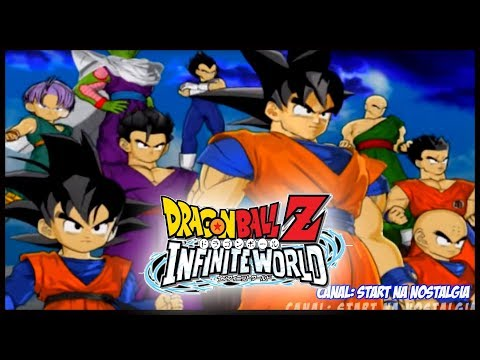 Dragon Ball Z Infinit World Abertura / Opening / Intro - PS2 【FULL HD 60FPS】 - 동영상