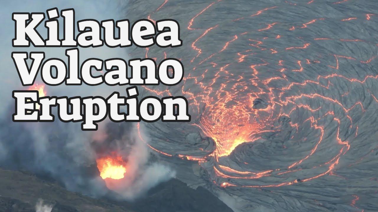 Kilauea Volcano Eruption - Hawaii Residents Flee After Kilauea Volcano Eruptions
